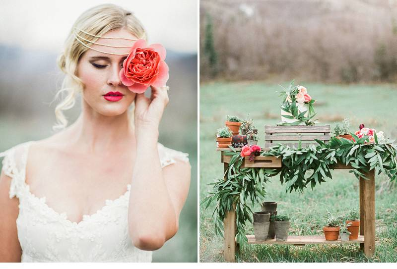 mountain bridal wedding inspiration 0005