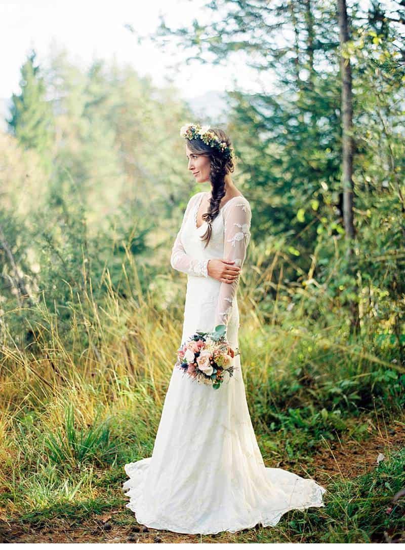 natural bridal shoot carinthia 0003