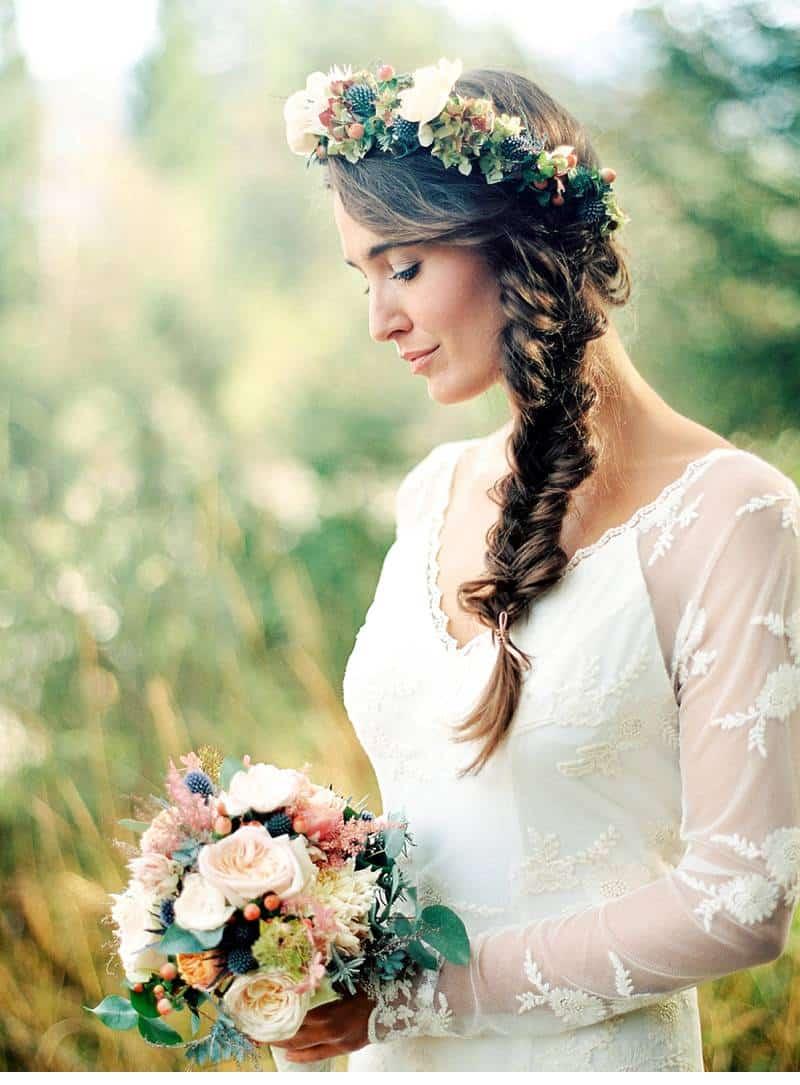 natural bridal shoot carinthia 0010