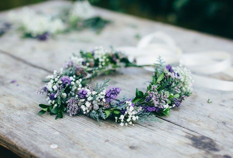 DIY Blumen-Haarkränze von Julia Hofmann