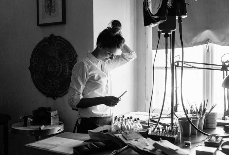 Die fabelhafte Welt der Goldschmiedin Antonia Kochvon Dorelies Hofer Fotografie