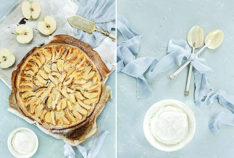 Köstliches Apfelkuchen Rezept von Comme Soie