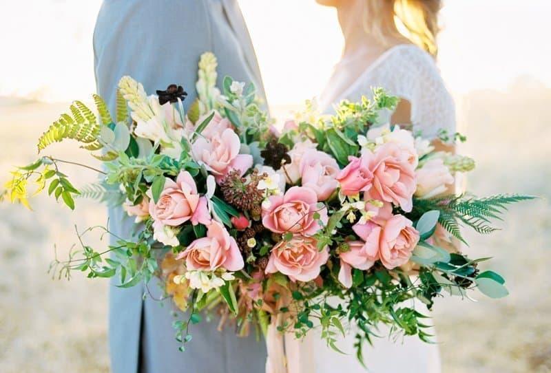 Zauberhafte Brautstrauß Ideen für die Fine Art Braut