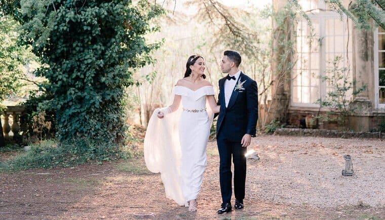 Romantische Hochzeit auf Chateau Robernier