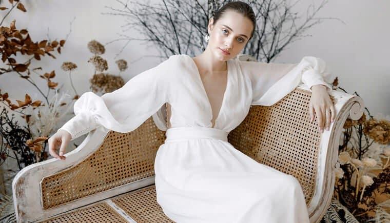 Moderner Look für die Fine Art Braut