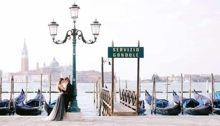 Elegante Pre-Wedding Session in Venedig