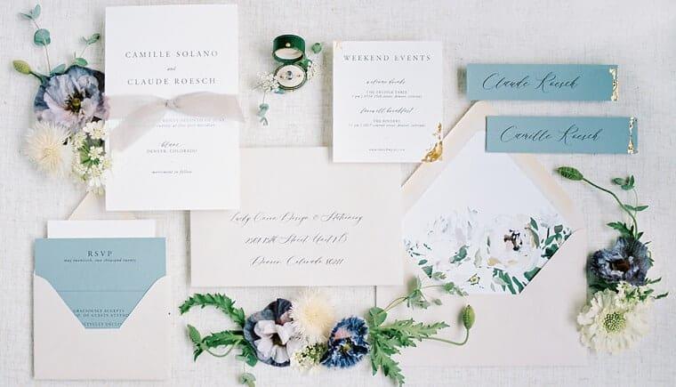 Claude Monet Hochzeits Inspirationen