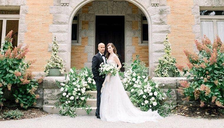 Königliches Hochzeitsfeeling mit modernem Touch im Cairnwood Estate