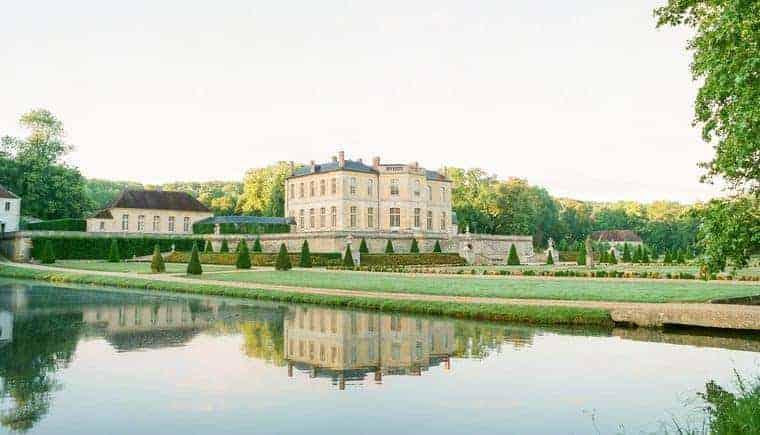 Zauberhafte Hochzeitsvisionen auf Chateau de Villette
