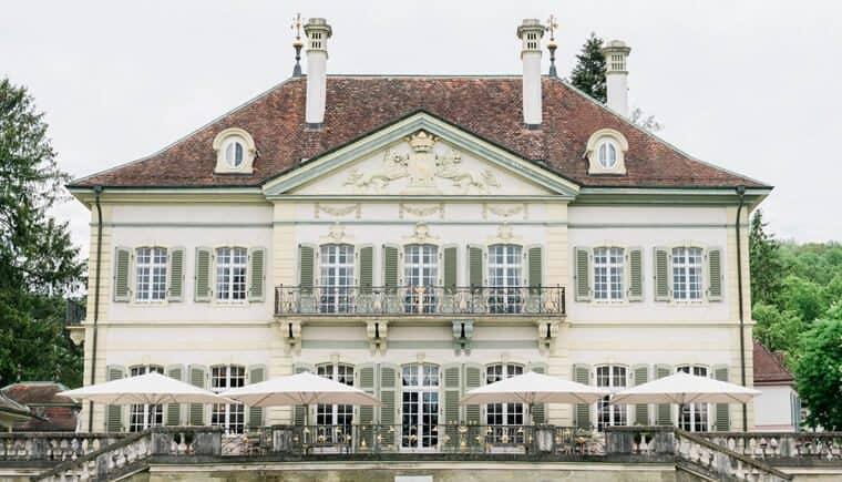 Zeitlose Hochzeitsinspirationen in der Villa Wenkenhof
