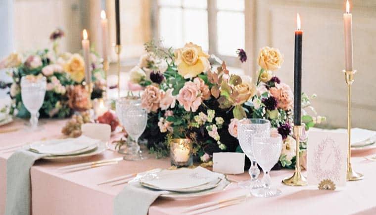 """""""Rose de thé"""" – Inspirationen aufChateau de Montgobert"""